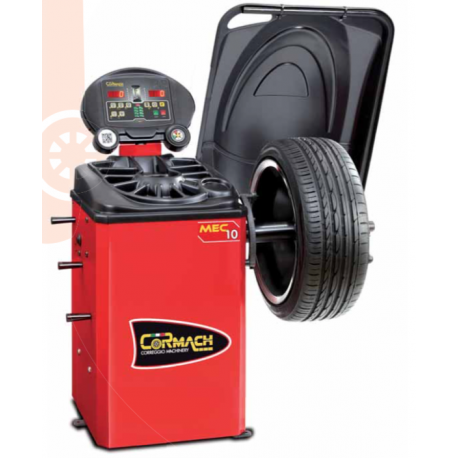 Electronic wheel balancer for cars, light commercial vehicles and motorcycles.