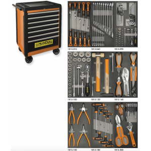 TROLLEY-PRO 7 DRAWERS - 128...