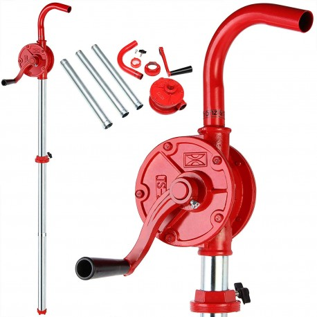 Oil and diesel rotary manual pump for drums from 50 to 180 lt