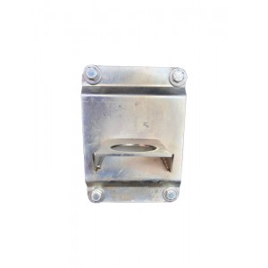 Wall bracket for wall pumps