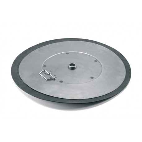 Follower plate diam. 400 mm central hole 28 mm  for drums 50/60 kg.