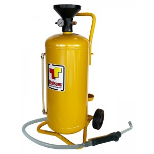 Air operated oil dispenser...