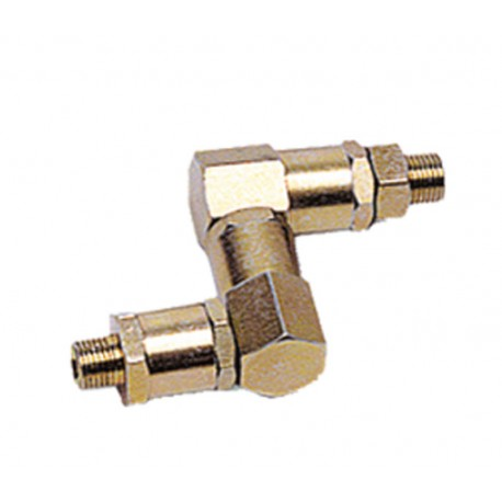 """Z"" swivel 1/4"" MM"