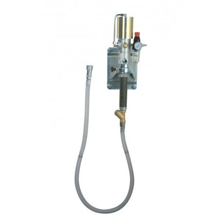 Wall mounted suction kit with quick connection