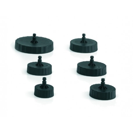 Kit 6 Plugs recommended for brake bleeders