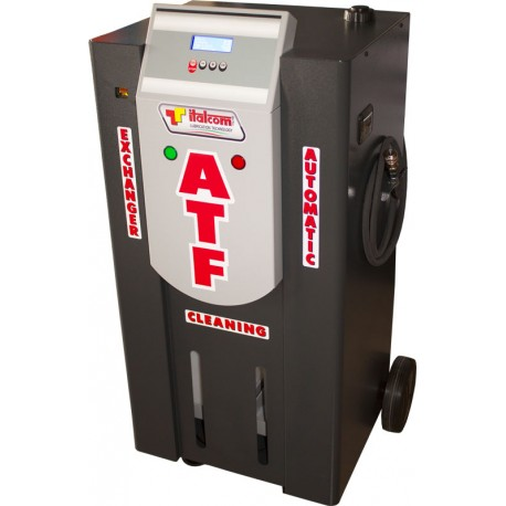 Machine to wash and change ATF