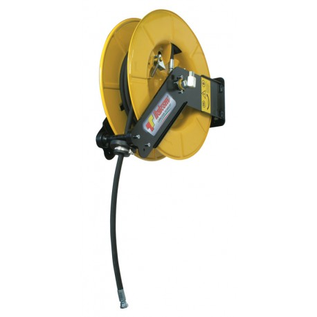 Rotary Hose reel for grease with 18m hose