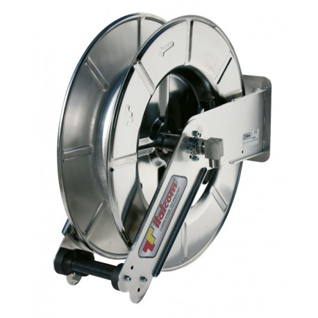 Stainless steel Hose reel for water 18 m without hose