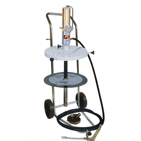 Pneumatic grease kit for drums 50/60 kg