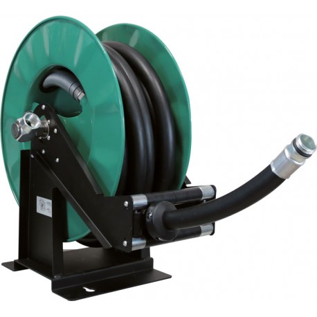 Rotary Hose reel for diesel  with hose 25 x 35 mm 14 m