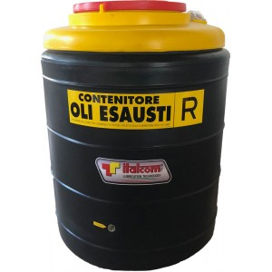 Waste oil container...
